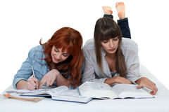 Female students Royalty Free Stock Images