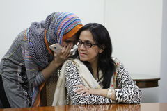 Female students in pakistan Stock Photography