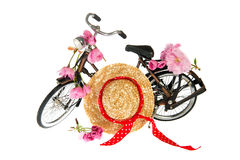 Female summer bike Stock Photography