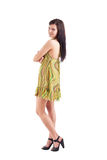 Female in summer dress Royalty Free Stock Image