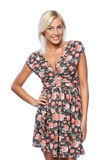 Female in summer dress Stock Image