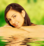 Female summer portrait Royalty Free Stock Images