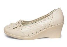 Female summer shoes Stock Image