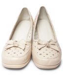 Female summer shoes Stock Photo
