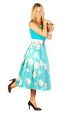 Female summer skirt Royalty Free Stock Photography