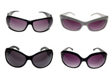 Female sunglasses with clipping patch Royalty Free Stock Photography