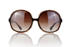 Female sunglasses  on white Royalty Free Stock Images