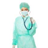 Female surgeon Stock Photos