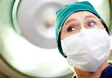 Female surgeon Royalty Free Stock Photos