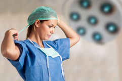 Female Surgeon Royalty Free Stock Photo