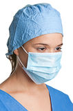 Female Surgeon Stock Image