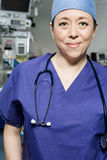 Female surgeon Stock Photo