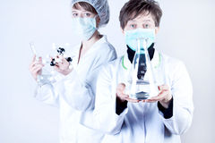 Female Surgeon and assisntat Stock Images