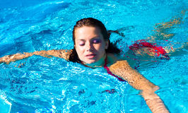 Female Swim Royalty Free Stock Photography