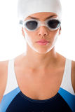 Female swimmer Stock Photos
