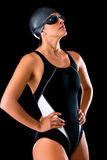 Female swimmer Stock Images