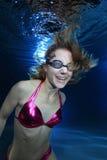 Female swimmer Stock Photo