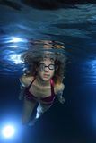 Female swimmer Royalty Free Stock Image