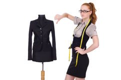 Female tailor Royalty Free Stock Photo