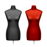 Female tailors dummy, mannequin Royalty Free Stock Image
