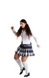 Female tap dancer Stock Image
