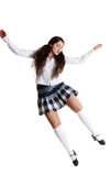 Female tap dancer Stock Image