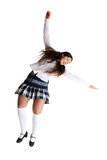 Female tap dancer Stock Images