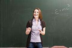 Female teacher Stock Image