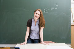 Female teacher Stock Image