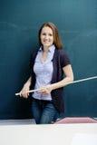 Female teacher Stock Photography