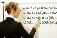 Female teacher Royalty Free Stock Photos