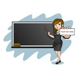 FEMALE TEACHER Royalty Free Stock Images