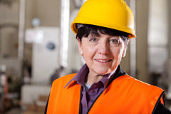 Female team manager Royalty Free Stock Photo