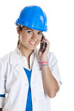 Female technician Royalty Free Stock Photo