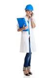 Female technician Stock Image