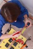 A female technician Royalty Free Stock Photo