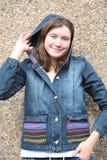 Female teenager. Royalty Free Stock Photos