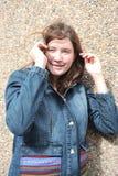 Female teenager. Royalty Free Stock Photo