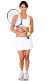 Female tennis player Stock Image