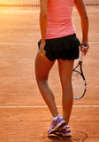 Female tennis Royalty Free Stock Photos