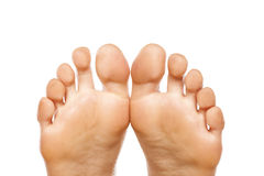 Female toes Royalty Free Stock Photography