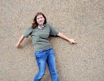 Female tomboy. Royalty Free Stock Image