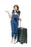 Female traveler Royalty Free Stock Image