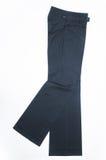 Female trousers. Isolated on white background Stock Image