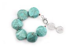 Female Turquoise Bracelet Royalty Free Stock Photography