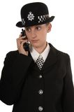 Female UK Police Officer Stock Photo