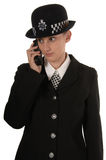 Female UK Police Officer stock image