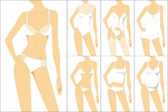 Female underwear Stock Photo
