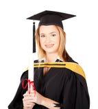 Female university graduate Royalty Free Stock Photo