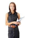 Female university student Stock Images